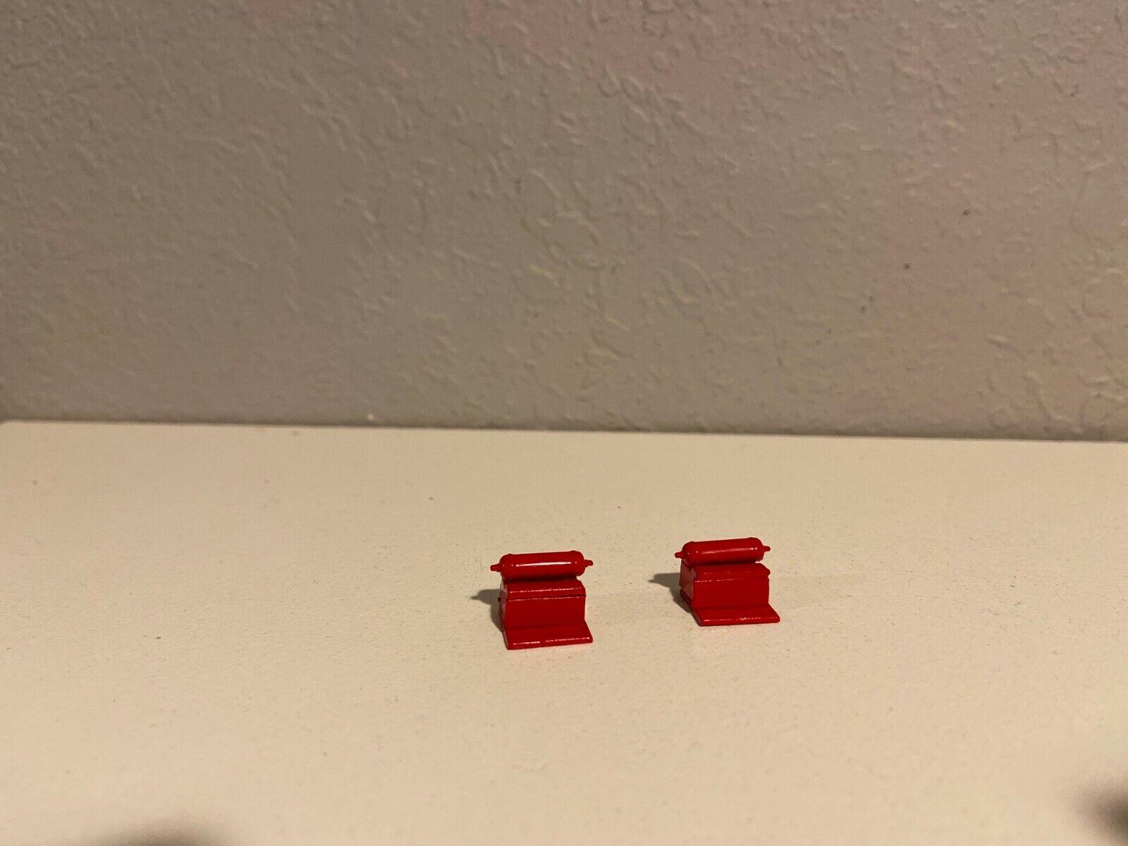 2 ALL RED DCP 1/64 379/389 PETERBILT STEPS