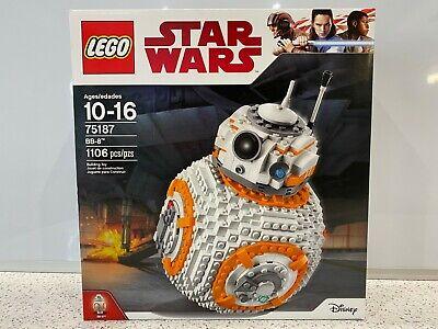 LEGO Star Wars BB-8 2017 (75187) New, Sealed NIB