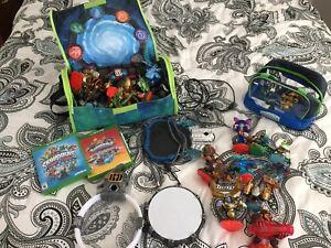 Jeux de Skylanders (x-box one et Wii)