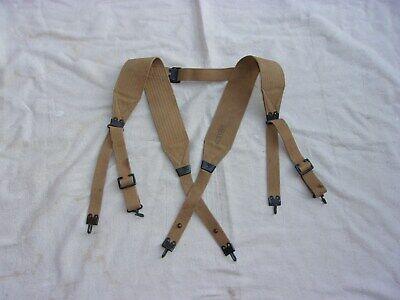 Pre-WW1 Mills M1907 Type Cartridge Belt Suspenders--Odd Variant--Original