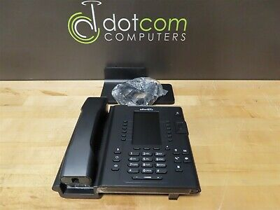 Allworx Verge 9312 Voip Ip Display Phone 8113120 Black Curly Ethernet Voip
