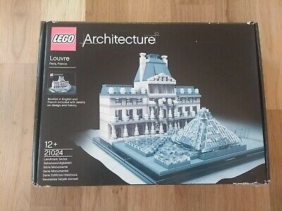 LEGO Architecture Louvre (21024) - 100% Complete Boxed With Manual