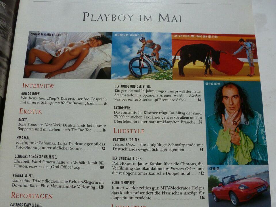 Playboy heißt Foster Hewitt,