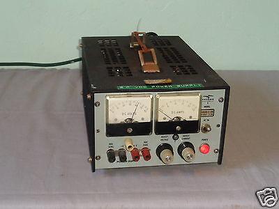 Vintage Trygon Electronics Hr60-2.5b 0-60v 2.5a Se Power Supply 4 Parts Repair