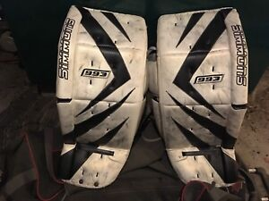 Complete set of Adult Goalie Gear. very good condition