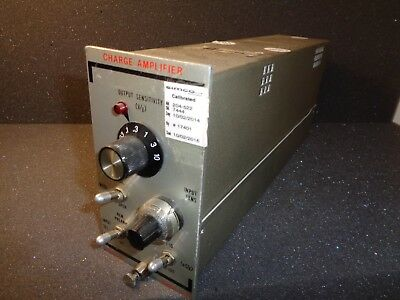 Unholtz-dickie Model 122p Charge Amplifier
