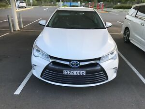 Toyota Camry hybrid 2017 for Rent for uber drivers