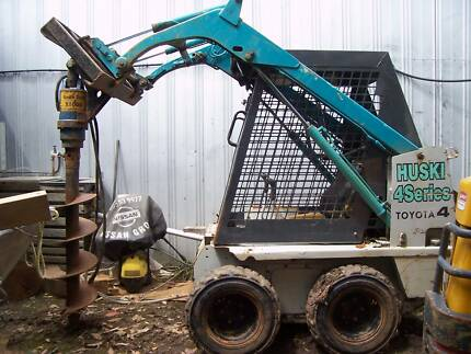 auger drive with 300mm drill scew