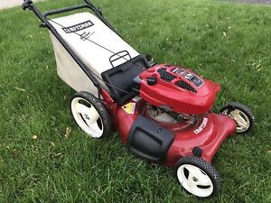 6.75 HP Gas Lawn Mower Excellent Condition