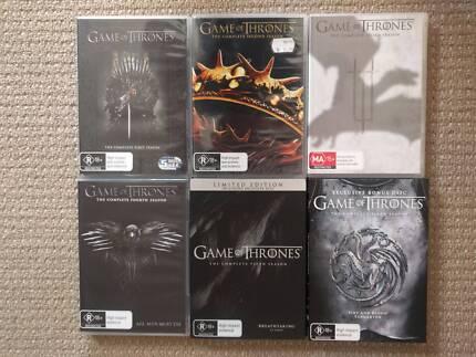Tv Series Blu-rays and DVD's
