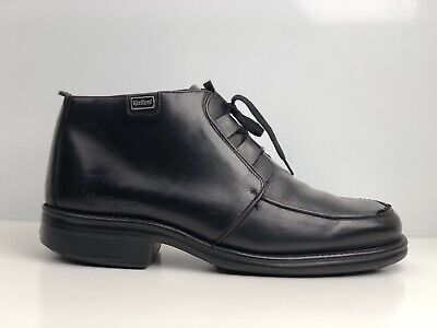 Kickers Men's Black Leather Ankle Boot UK Size 11