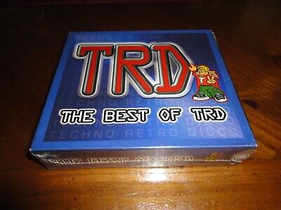 the Best of TRD - Techo Retro Disco Compilation - 3 CD Set - 80's Music