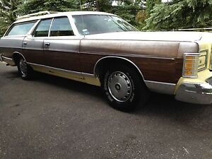 1975 Mercury Colony Park 8 passenger Station Wagon