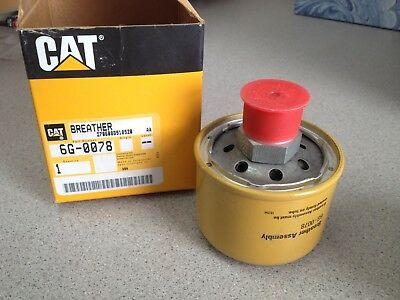 Genuine Oem Caterpillar Cat Breather 6g0078 6g-0078 Nos New Old Stock Original