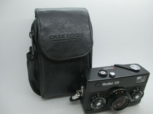 Rollei 35 Camera Schneider-Kreuznach 40mm F3.5 Lens Excellent + UV Filter WORKS
