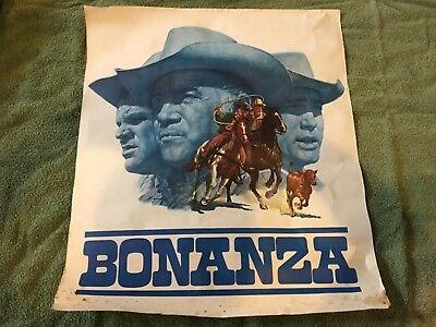 NBC 1966 BONNANZA VINTAGE ORIGINAL TV PROMOTIONAL MAIL ORDER POSTER JAMES BAMA