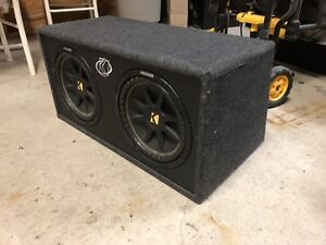 "Double 12"" comp 10c124- 4OHM"