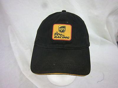 trucker hat baseball cap UPS RACING retro cool cloth rare 1980