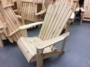 Adirondack style Deck chairs $60 each 2 for $100
