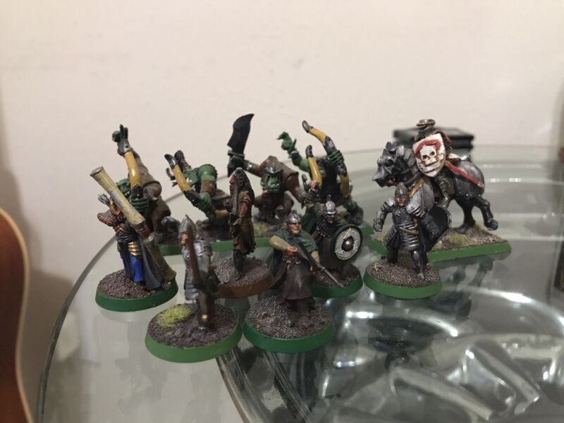 Games Workshop Warhammer Army Lot Lord Of The Rings Damaged