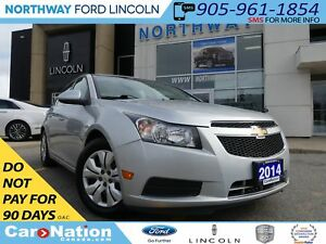 2014 Chevrolet Cruze 1LT | REAR CAM | BLUETOOTH |