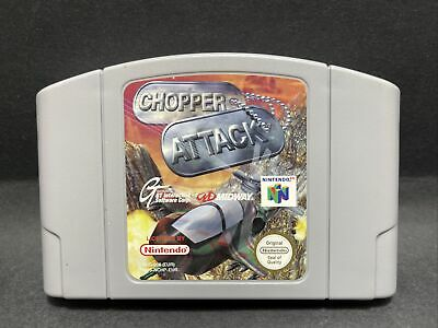 N64 Nintendo 64 Game - Chopper Attack - PAL