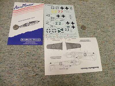 Aeromaster decals 1/48 48-103 Butcher Birds Part 3 L87