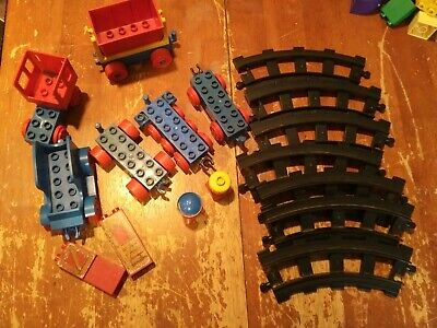 Vintage Lego Duplo Basic Set Train Lot of Pieces