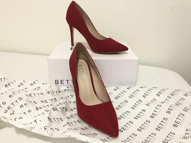 Betts Red Heels Size 8 Women S Shoes Gumtree Australia