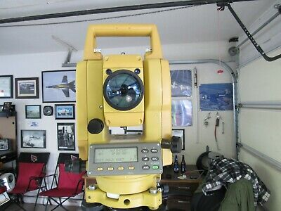 Topcon Gts 225 Total Station - Survey Instrument
