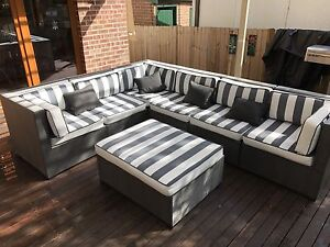 Large Outdoor Lounge Set for sale West Ryde Ryde Area Preview