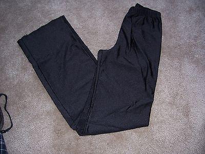 Womens Black Dance Pants Size Small