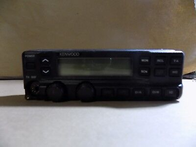 Kenwood Tk790h Vhf Tk890h Uhf Mobile Radio Control Head Faceplate Great Shape