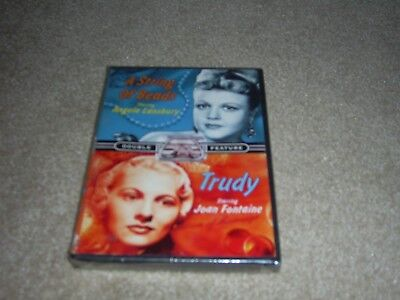 Tv Double Feature   Four Star Playhouse   A String Of Beads Trudy  Dvd  New
