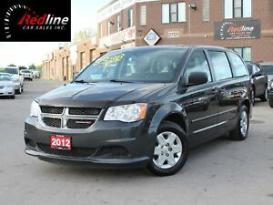 2012 Dodge Grand Caravan SE Accident Free-One Owner