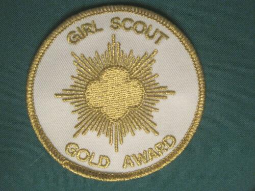 Girl Scout GOLD AWARD PATCH Sr/Amb Highest earned award Leadership Multi NEW