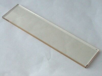 "Glass Platen for Grinders and Sanders 2"" x 4.5"" and 1"" x 5"""