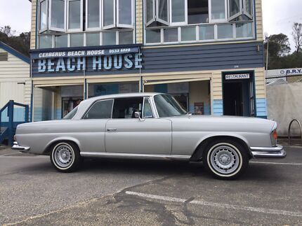 Mercedes Benz 280se 3.5 coupe Black Rock Bayside Area Preview