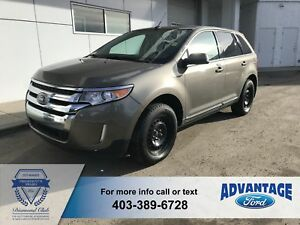 2013 Ford Edge SEL Leather - Reverse Camera - Clean Carfax