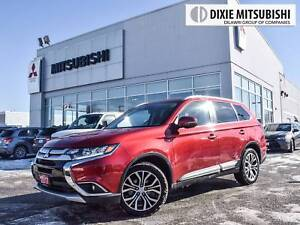 2017 Mitsubishi Outlander GT S-AWC | LEATHER | SUNROOF | 7 PASS