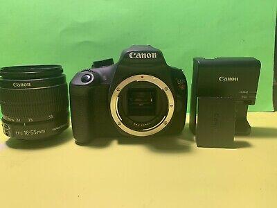 Canon Rebel T5 EOS 1200D DSLR Camera W/ Canon EF-S 18-55mm Zoom Lens G291