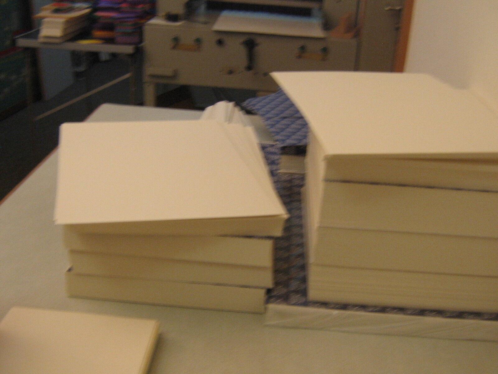 140 Blatt  Aquarellpapier180 g/qm matte Struktur Postkarten Säurefrei weiss.