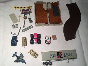 Vintage MicroMachines cars & parts