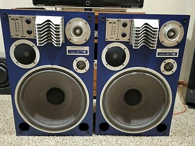 Marantz LS-17A Vintage Speakers ,Rare to find,Sounds Great,new surrounds