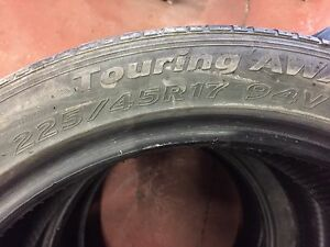 3 tires for sale 225/45/R17
