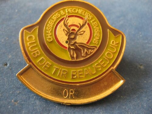 SHOOTING CLUB CLUB DE TIR BEAUSEJOUR  Saint-Jean- Chrysostome QUÉBEC GOLD MEDAL