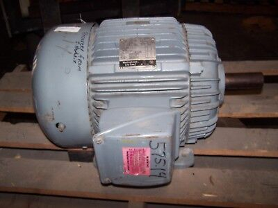 New Westinghouse 15 Hp Ac Electric Motor 254t Frame 230460 Vac 3515 Rpm Tefc