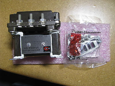 Cutler Hammer Ac Power Relay 100 Amp Type Ii 9565h125 Nsn 5945-00-023-2424