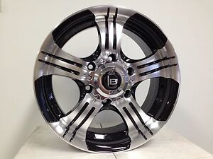 Brand new 16 inch 4WD wheels FOR D40 NAVARA