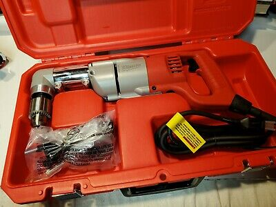 Milwaukee Electric 12 Right Angle Drill Driver Kit W Case 1107-1 3107-6 Tool